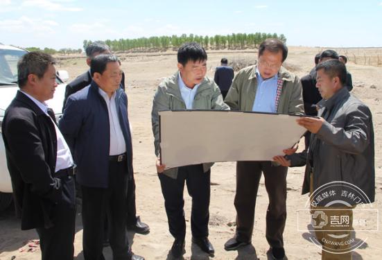 通榆县长现场办公推进向海生态保护