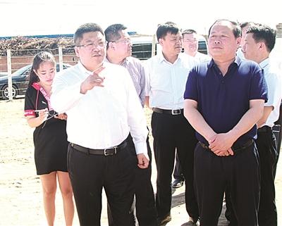 市长李明伟视察生态环境保护工作和河长制落实情况